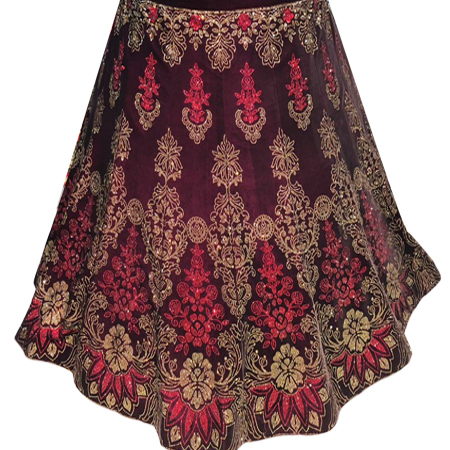 Ladies Heavy Embroidery Lehenga