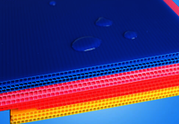 Corona Treated Corrugated Plastic Sheets
