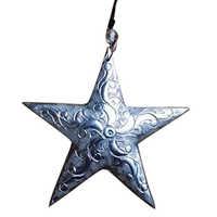 Embossed Designs Hanging Star