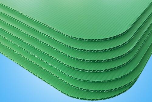 Round Corner Corrugated Plastic Board