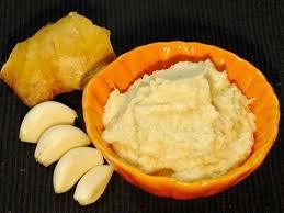 Garlic-Ginger Paste