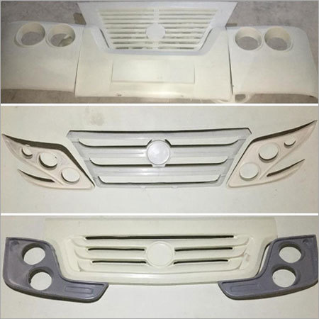 FRP Bus Front Grill