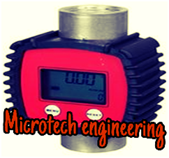 MECHANICAL OIL FUEL FLOW METER