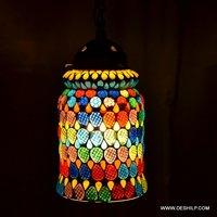 Glass Pendant Hanging Lamp Light