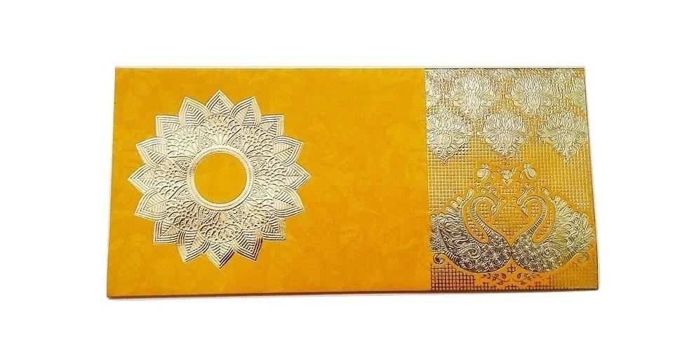 Golden Duck Gift Envelope