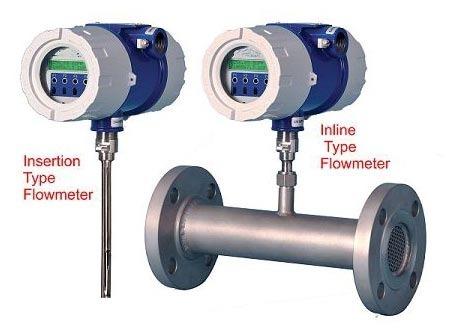 Thermal Mass Gas Flow Meter