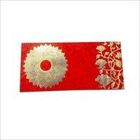 Golden Flower Shagun Envelope