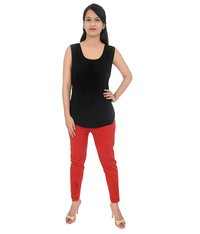 Cotton Lycra Lucknow Chikan Pant