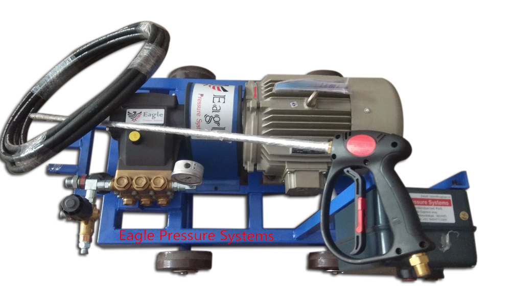 Triplex Plunger Water Jet Cleaning Machine