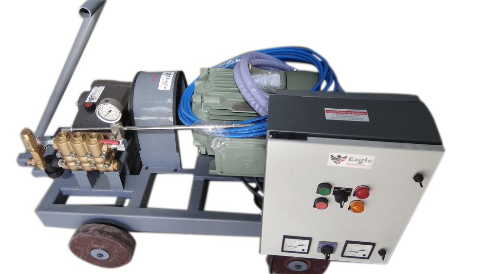 Electric Hydrostatic Test Pump 500 Bar