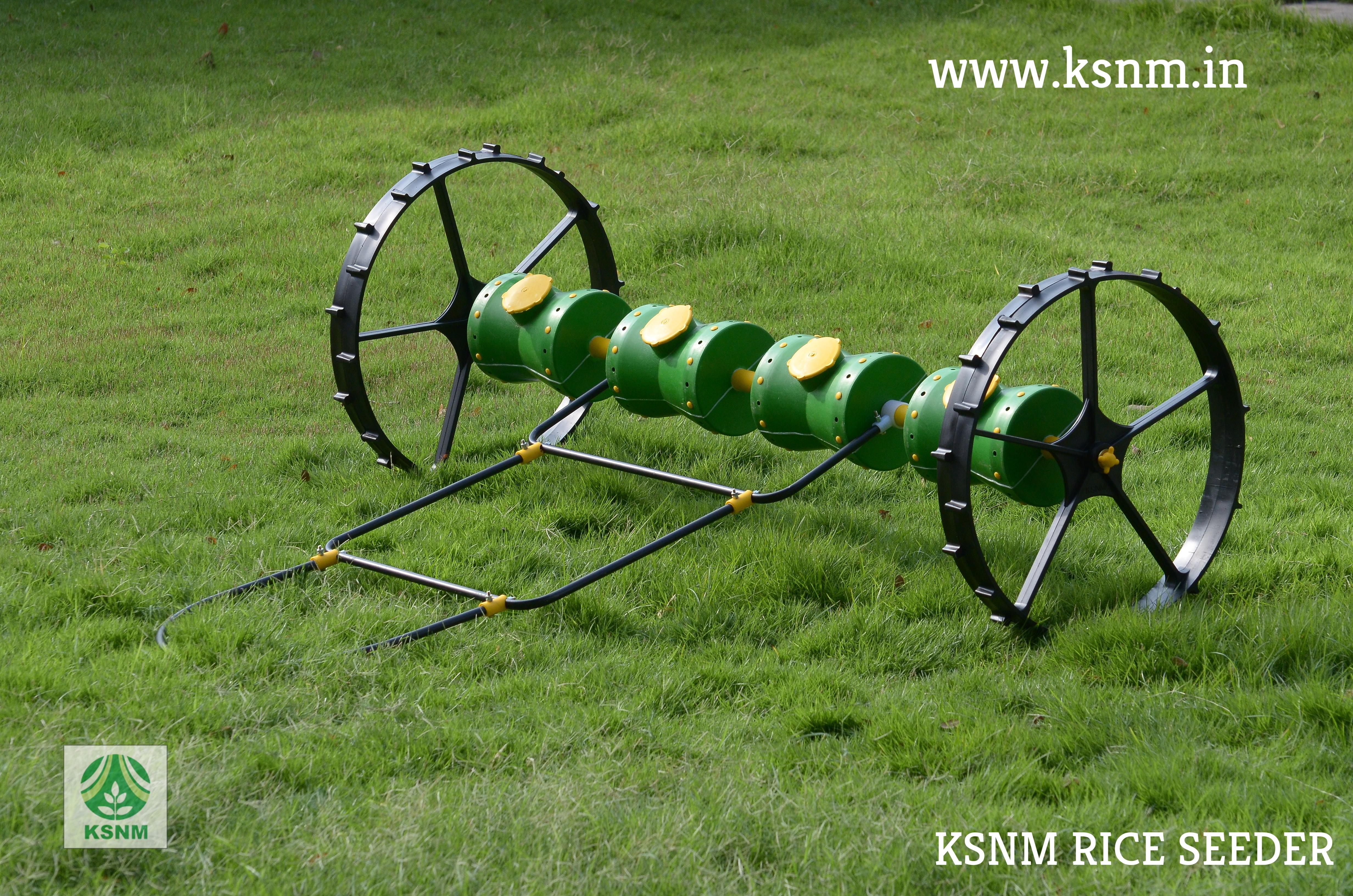 8 Row Plastic Drum Seeder