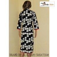 Ladies Designer Block Print Kurti