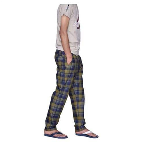Check Mens Cotton Lowers