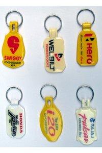 ABS Meena Printing Plastic Keychain