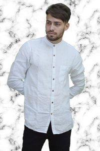 White Linen Shirts