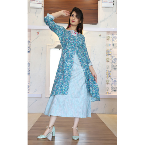 Ladies Long Frock Suit