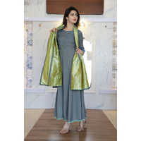 Ladies Long Frock Suits