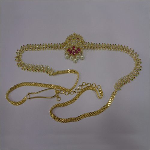 Fancy Gold Plated Waistchain