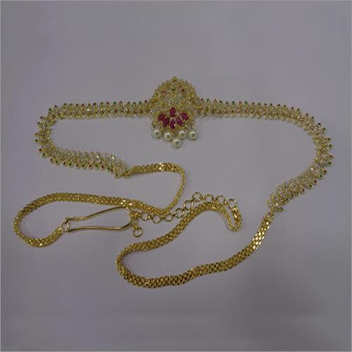 Fancy Gold Plated Waistchain