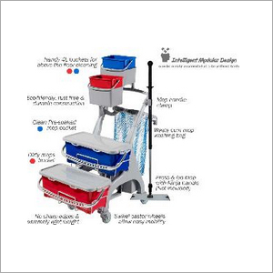 Partek Hygiene Line Healthcare Housekeeping Trolley HL 240