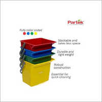 Partek 6 Litre Bucket Color Coded - Blue PB06 B