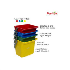 Partek 6 Litre Bucket Color Coded - Green PB06 G
