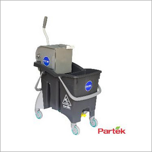 Partek Wonder 30 Double Bucket Mopping Trolley DBW30SP GY