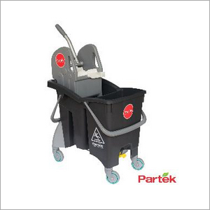 Partek Wonder 30 Double Bucket Mopping Trolley DBW30 GY