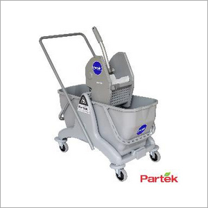 Partek Eco 50 Double Bucket Mopping Trolley DB50A GY