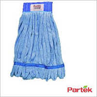 Partek Lito Microfiber String Mop With Scrub Band 500 Washes Blue LMMH200N B