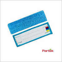 Partek Dido Flat Microfiber Mop - 500 Washes And Color Coded Strips DMH02