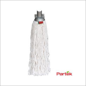 Partek Round Cotton Mop With Color Coded Strips RCTNM01