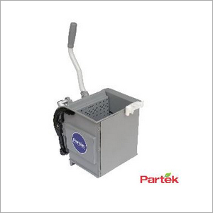 Partek Heavy Duty Side Press Wringer For Mopping Trolleys - Grey PSDPR01
