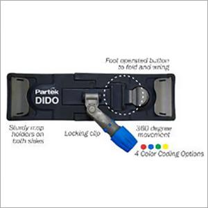 Partek Dido Flat Microfiber Mop 140 Cm Aluminum Handle DMFRM AH01 DMH02 G