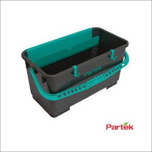 Partek 28 Litre Professional Window Cleaning Bucket In Grey WC08A