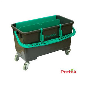 Partek 28 Litre Professional Window Cleaning Bucket In Black WC08A PB28WH