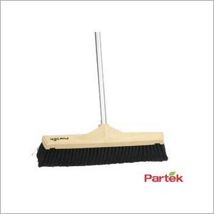 Partek Industrial Floor Sweeping Brush 45 Cm With 140 Cm Aluminum Handle IFB02 45 AH05