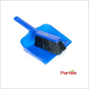 Partek Color Coded Hand Dust Pan With Brush - Blue HDPB01 B