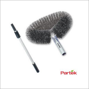 Partek Round Cobweb Brush With 2.5 Meter Aluminum Telescopic BR06 TP25