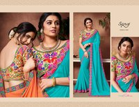Ladies Fashion Georgette Sarees