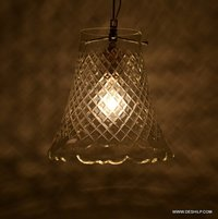 Clear Cutting Glass Hanging Lamp Shades For Home Decorative Hanging