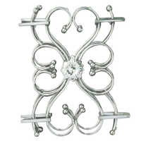 Butter flly heart shap Steel Railing