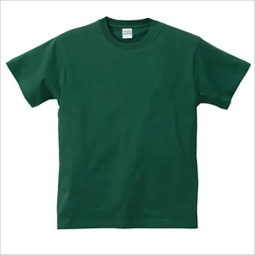 Mens Green T Shirt