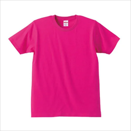 Mens Pink T Shirt
