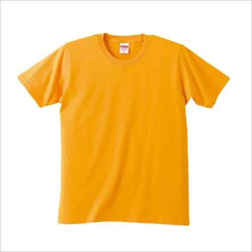 Mens Yellow T Shirt
