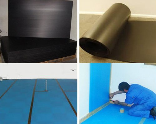 Corflute Floor Protection