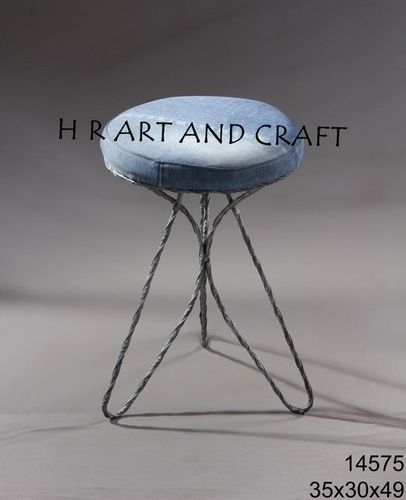 FABRIC TOP STOOL