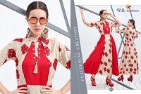 Ethnic Designer Printed Kurtis