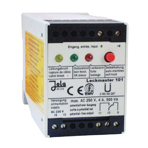 Electrode Relays Spill Leakage Detector