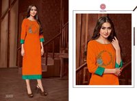 Fancy Ladies Rayon Kurtis